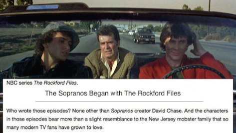 Sopranos Rockford Files